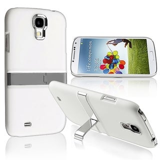 BasAcc White/ Silver Case/ Stand for Samsung Galaxy S4/ S IV