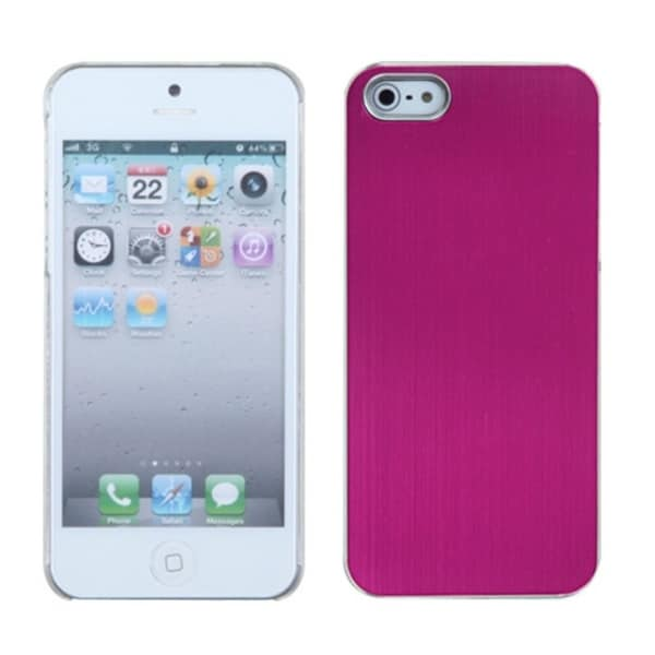 INSTEN Hot Pink Warp Speed Cosmo Back Phone Case Cover for Apple iPhone 5