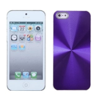 INSTEN Purple Cosmo Back Protector Phone Case for Apple iPhone 5/ 5S/ SE