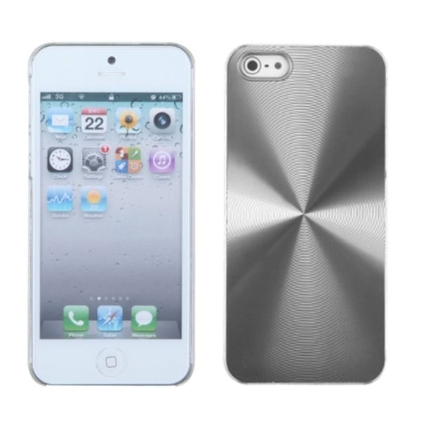 INSTEN Silver Cosmo Back Protector Phone Case Cover for Apple iPhone 5