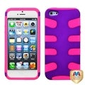 BasAcc Grape/ Electric Pink Fishbone Case for Apple� iPhone 5