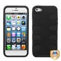 BasAcc Black Rubberized Fishbone Case for Apple� iPhone 5