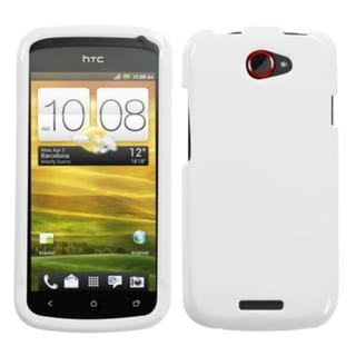 INSTEN Natural Ivory White Phone Case Cover for HTC One S