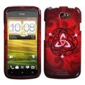 BasAcc Red Celtic Ring Knot Case for HTC One S
