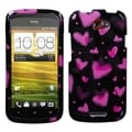 BasAcc Chalkboard Heart Black Case for HTC One S