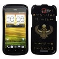 BasAcc Gold Scarab/ Black-Egyptian Elements Case for HTC One S