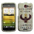 BasAcc Green Scarab/ Papyrus-Egyptian Elements Case for HTC One S