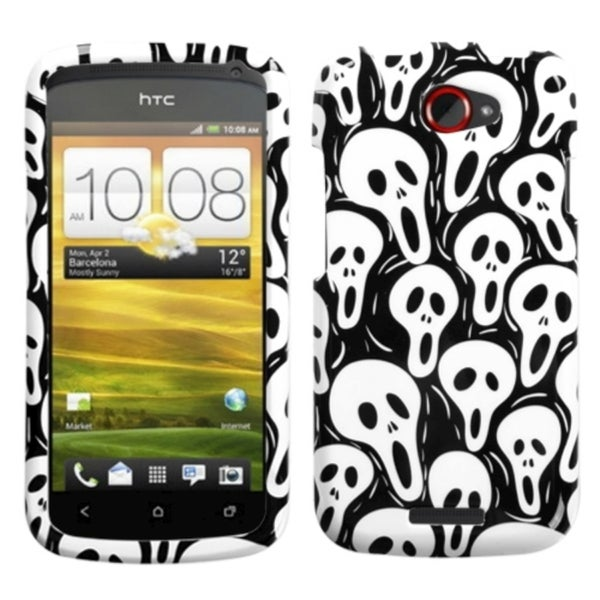 INSTEN Screaming Ghosts Phone Case Cover for HTC One S 11299593