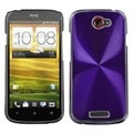BasAcc Purple Cosmo Back Case for HTC One S