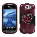BasAcc I Heart Rock 2D Silver Sparkle Case for HTC myTouch 4G Slide