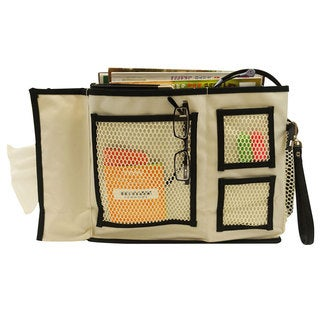 Florida Brands Beige 3-pocket Bedside Caddy