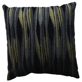 Pillow Perfect Kasuri Navy 18-inch Throw Pillow