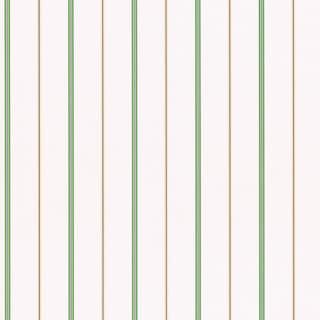 Brewster Home Fashions Green Stripes Wallpaper