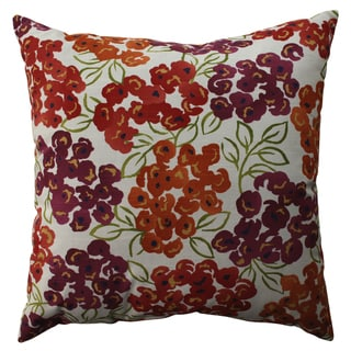 Pillow Perfect Luxury Floral Poppy 23-inch Decorative Pillow