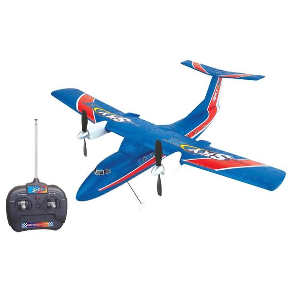 Sky2 Blue Radio Control Airplane