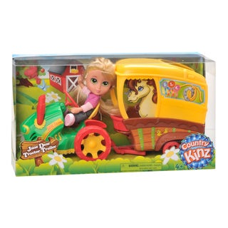 Country Kinz Jane Dear Tractor Set