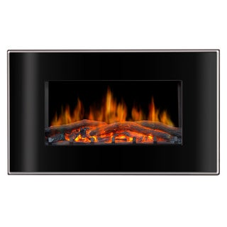 Lofty Valencia Wall Mount Electric Fireplace
