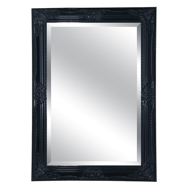 Mercer Black Finish Mirror (30 x 42)