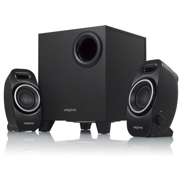 Creative SBS Series A250 2.1 Speaker System - 9 W RMS - Black 11300067