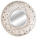 Ardant Antique White Mirror (38 x 38)