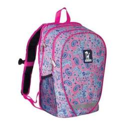 Women's Wildkin Comfortpack Backpack Watercolor Ponies Pink