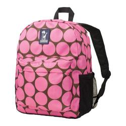 Wildkin Crackerjack Backpack Big Dots Hot Pink