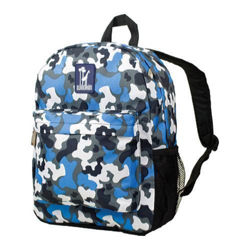 Wildkin Blue Camo Crackerjack Backpack
