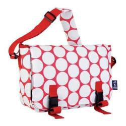 Wildkin Jumpstart Messenger Bag Big Dot Red & White