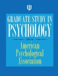 Graduate Study in Psychology 2014 (Paperback)