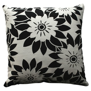 Pillow Perfect Pop Art Floral 18-inch Throw Pillow