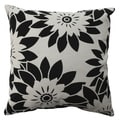 Pillow Perfect Pop Art Floral 16.5-inch Throw Pillow
