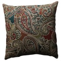 Pillow Perfect Piper Paisley 18-inch Throw Pillow