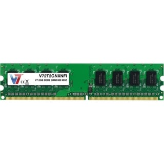V7 2GB DDR2 800MHz PC2-6400 DIMM Desktop Memory
