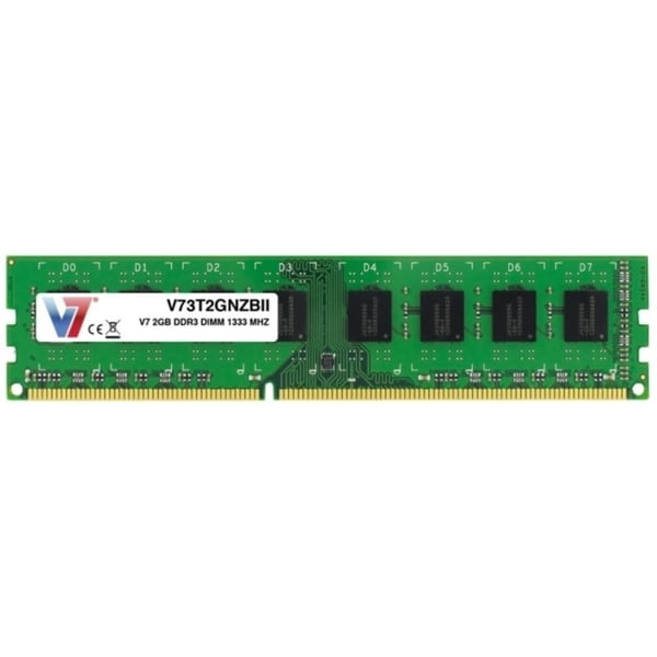 V7 2GB DDR3 1333MHz PC3-10600 DIMM Desktop Memory