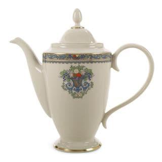 Lenox Autumn Coffeepot with Lid