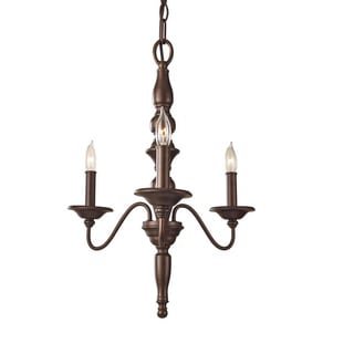 Yorktown Heights 3-light Chandelier