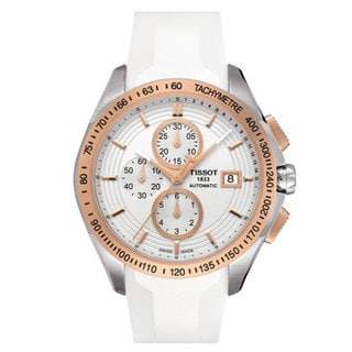 Tissot Men's T0244272701100 Veloci-T White Automatic Watch