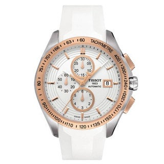 Tissot Men's Veloci-T White Automatic Watch