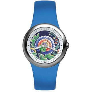 Philip Stein Women's Floral Dial Watch