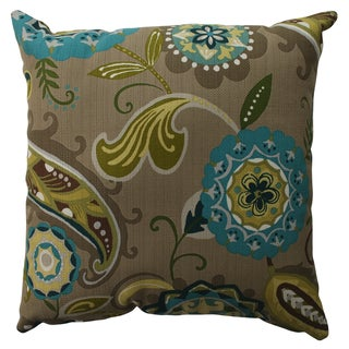Pillow Perfect Merrimack Suzani 16.5-inch Throw Pillow