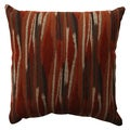 Pillow Perfect Kasuri Tangerine 16.5-inch Throw Pillow