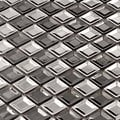 Martini Mosaic 'Piazza' Stainless Steel 12 x 12-inch Tile Sheets (Set of 8 sheets)