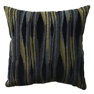 Pillow Perfect Kasuri Navy 16.5-inch Throw Pillow