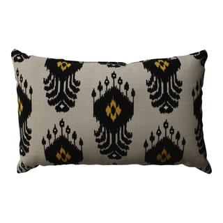 Pillow Perfect Ikat Mesa Rectangular Throw Pillow