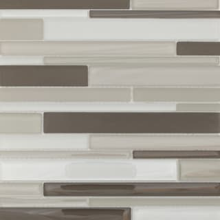 Martini Mosaic Strada Dolphine Cove Glass 12.75 x 14.25-inch Tile Sheets (Set of 6)
