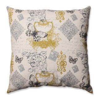 Pillow Perfect Butterfly Scroll 24.5-inch Floor Pillow