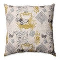 Pillow Perfect Butterfly Scroll 23-inch Floor Pillow