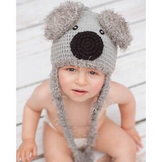 Handmade Baby's Koala Bear Knit Hat