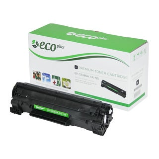 EcoPlus Black HP CE285A Remanufactured Toner Cartridge