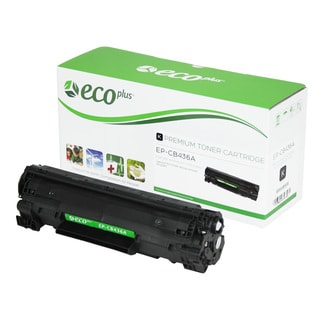 EcoPlus HP CB436A Remanufactured Toner Cartridge